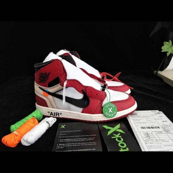 """7fe187b90b4280 Jordan Other - Off-White Jordan 1 """"Chicago"""""""
